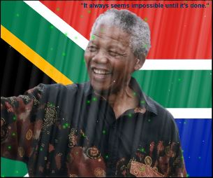 mandela screensaver