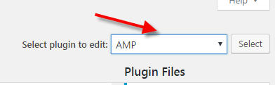 amp plugin edit