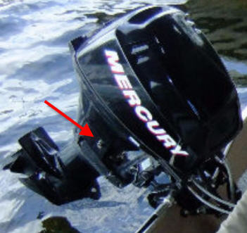 Changing Engine Oil of 15 or 20 HP 4 Stroke Mercury Outboard