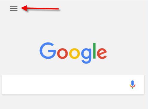 google app settings icon