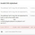 How to Fix Invalid CSS Style AMP Error Due to Jetpack in WordPress