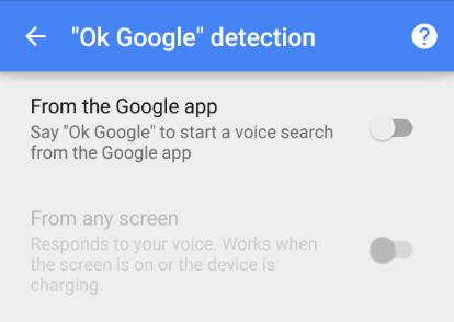 ok google removed