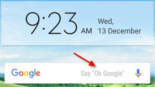remove ok google