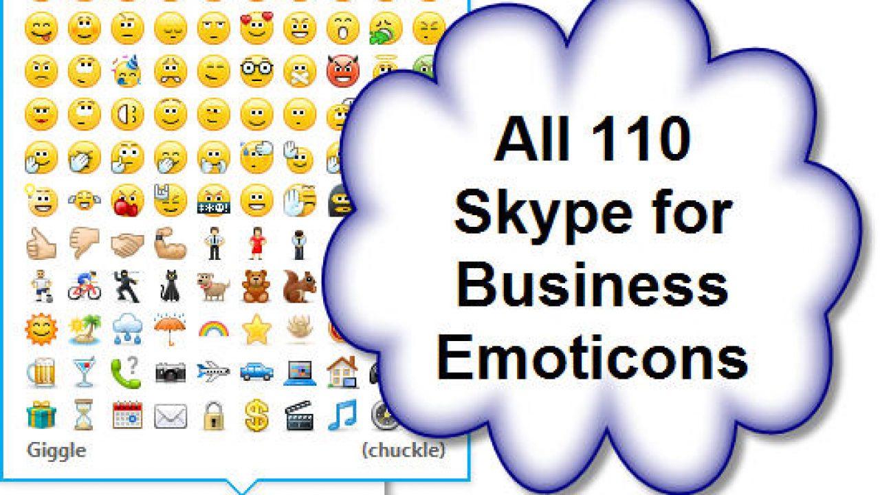 Old Skype Emotes