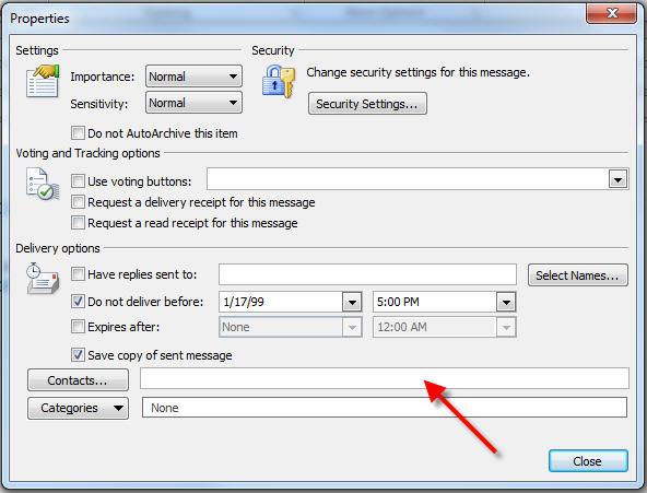 delay sending recipients list