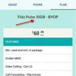 Fido 10GB Plan Shows 5GB or 15GB in My Account and App