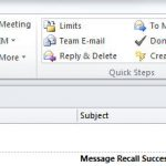 How to Recall an Email in Outlook 365