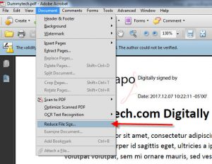 Reduce pdf file size dummytech how to reduce pdf file size ccuart Images