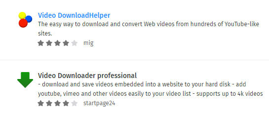 download youtube videos with firefox