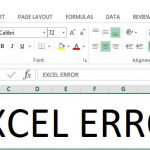 [Fixed] Microsoft Excel cannot open or save any more documents because there is not enough available memory or disk space