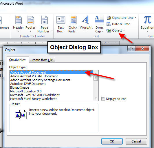 how to import pdf file into a word document