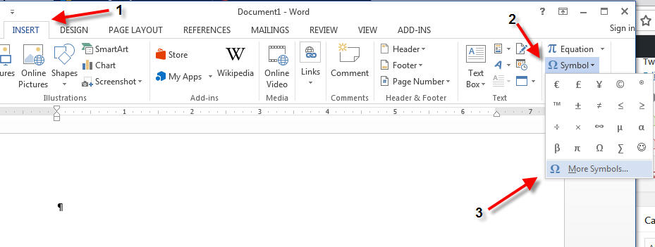 How To Insert Degree Symbol In Microsoft Word Dummytech