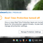How to Fix Malwarebytes Real Time Protection Not Turning On