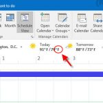 How to Change Fahrenheit to Celsius in Outlook 2016