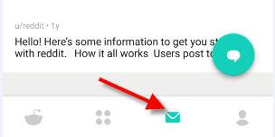 alternate method for sending pm on reddit