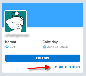 how to send pm on reddit username more options