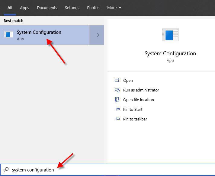 corona virus system configuration