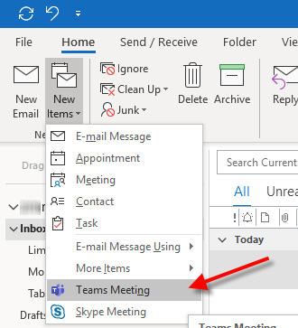 new microsoft teams meeting