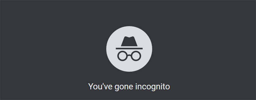 start chrome in incognito mode all the time